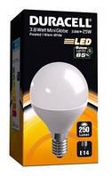 Лампа светодиодная DURACELL 4W > 25W (E14)
