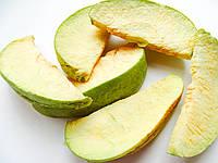 Яблоки дольками зеленые 50г сублимированные, натуральный фрукт от украинского производителя