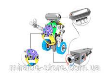 Болтовою розвиваючий конструктор Build&Play 5 в 1 з мотором 109 елементів, фото 3
