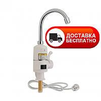 Проточный монокран с электронагревом для кухни Lidz (WCR)-0056
