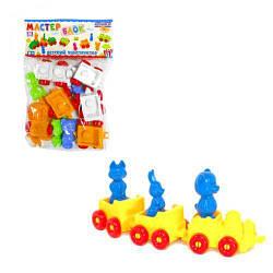 Дитячий конструктор 36 елементів 1-023