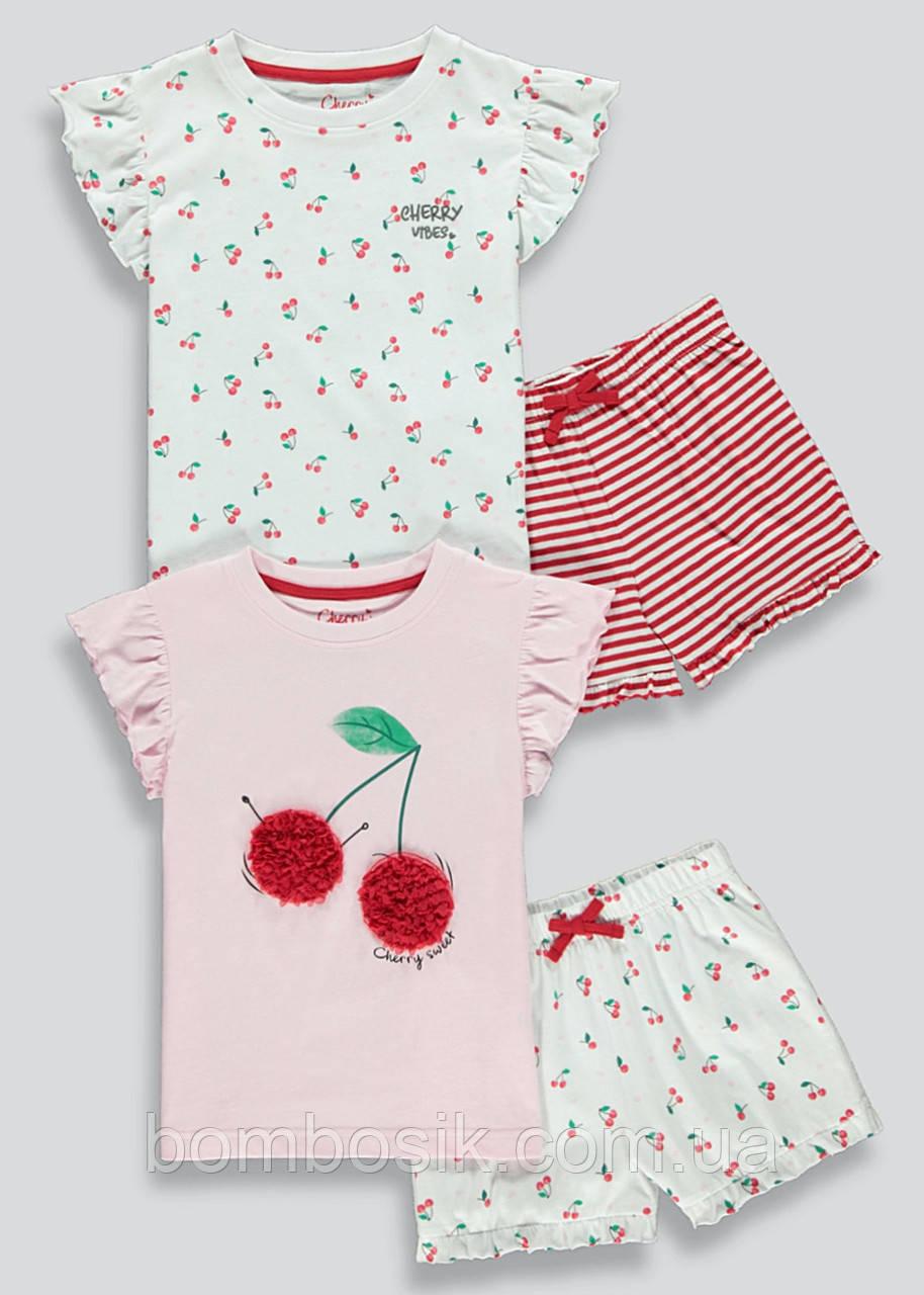 Пижамы для девочки Matalan набор 2шт, 10л (140см)