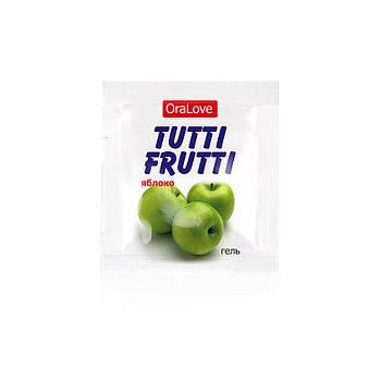 """Оральний гель """"Tutti-frutti яблуко"""" 4г"""