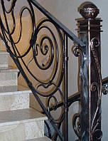 Купить металлические перила для лестницы