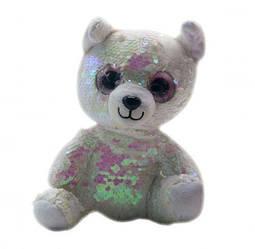 """Мягкая игрушка """"Глазастик"""" в пайетках (медведь) C37828"""