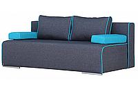 Диван Бонус без подлокотников с валиками и подушками / НТ-мебель, фото 1