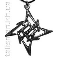 Кулон KUL-033 - Metallica -1 (звезда)