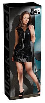 Лаковое платье VALENTINA