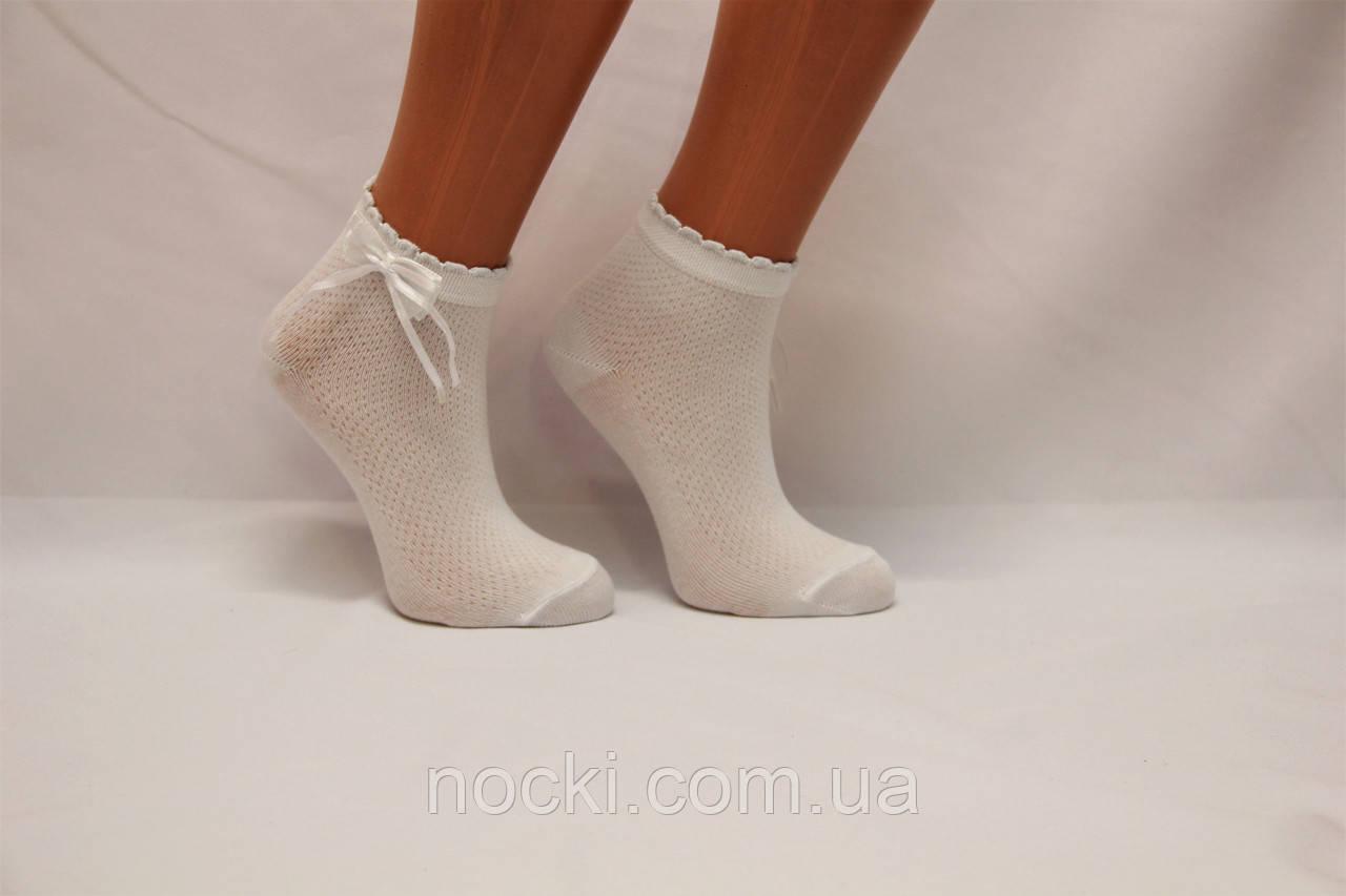 Дитячі шкарпетки білі,ажурні з аксесуарами P-253.274 Pier Lone 7-8 білий p-274
