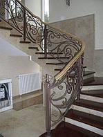 Кованые перила для лестниц эскизы и проекты
