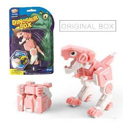"Трансформер ""Динозавр"" (рожевий) LX606"