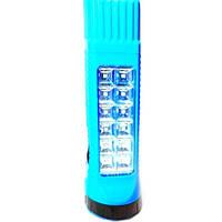 Аккумуляторный фонарик yajia yj-206, светодиод, дальность свечения – 50 м, 2 режима, аккумулятор