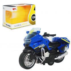 "Мотоцикл ""Classical moto"", синий MY66M1217"