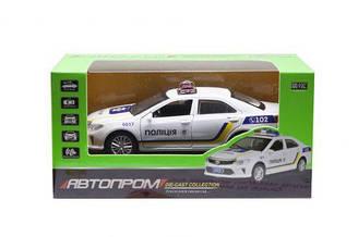 """Машинка """"Полиция Toyota Camry"""" из серии """"Автопром"""" 7844"""