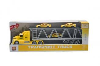 Инерционная машина Автовоз (желто-серая) WY782A