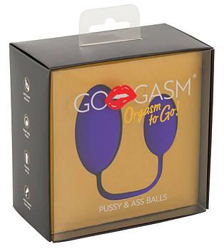 Анально-вагінальні кульки GO-GASM