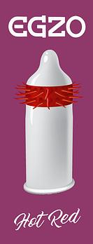 Презерватив Гарячий Червоний
