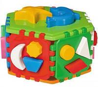 Детская развивающая игрушка Куб Умный малыш Гиппо