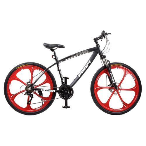 Велосипед спортивний Т26BLADE 26.1W чорно-червоний