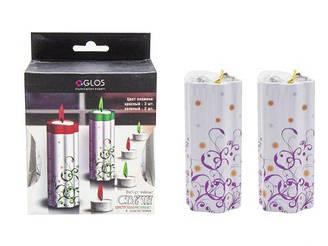 Свеча с цветным огнем GL4001-RG