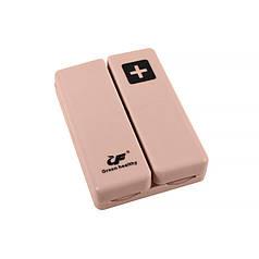 Таблетница органайзер для таблеток Lesko FY-8829 Pink на 7 отделений, неделю