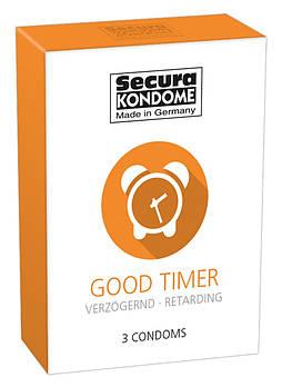 Презервативи SECURA GOOD TIMER 3 шт
