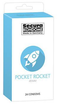 Презерватив Pocket Rocket 49 мм (24 шт)