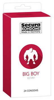 Презерватив SECURA BIG BOY 60 мм (24 шт)
