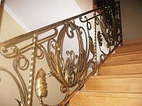 Изготовление перил для лестниц из металла