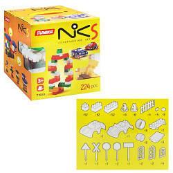 """Пластиковий конструктор """"NIK-5"""", 224 деталі 1559"""