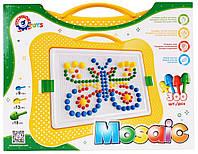 Развивающая игрушка Мозаика для малышей, 300 деталей, Технок 2100