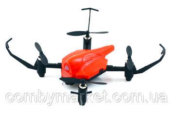 Квадрокоптер дитячий Wowitoys Space Racer H4816 з утриманням висоти і ІК-боєм (червоний)