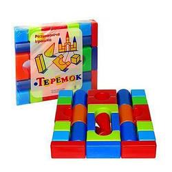 """Кубики """"Теремок"""" (28 елементів) 08072"""