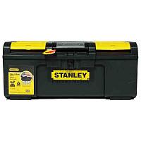 """Ящик для інструментів  Basic Toolbox пластиковий 48,6 x 26,6 x 23,6  1-79-217 Stanley // Ящик инструментальный  """"Stanley Basic Toolbox"""" пластмассовый"""