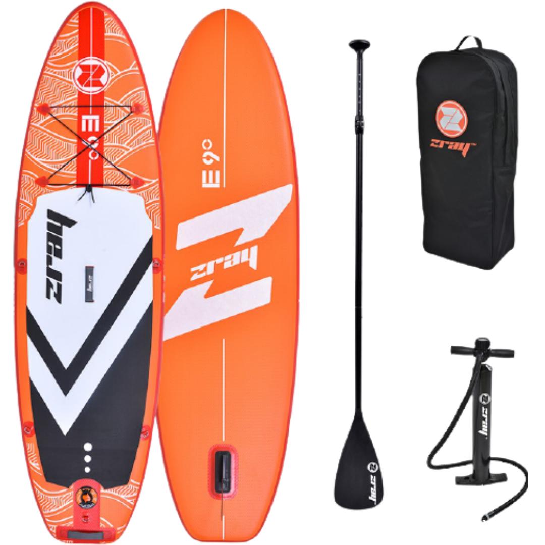 Сапборд Zray EVASION E9 9' 2021 - надувная доска для САП сёрфинга, sup board
