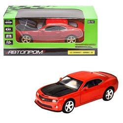 """Машинка """"Chevrolet Camaro SS"""" из серии """"Автопром"""", красный 68335"""