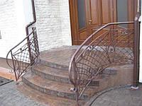 Перила для винтовых лестниц из металла