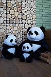 Плюшевая Панда 145 см | Плюшевий ведмедик Панда | Плюшевая игрушка Мистер Пух панда, фото 6