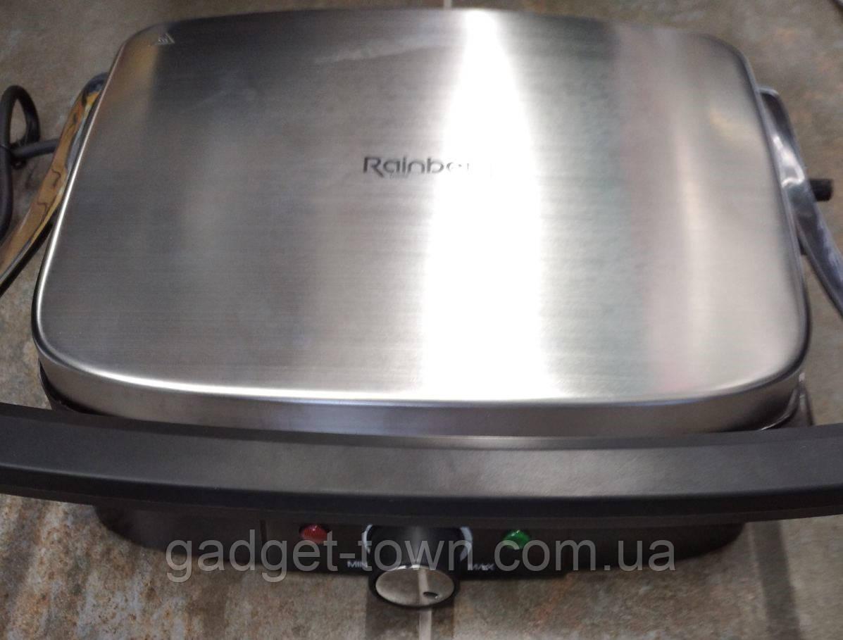 Гриль прижимной Rainberg RB-5413 c терморегулятором со съемным поддоном 3200W