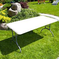 Стіл розкладний садовий 1,56*0,73 см, фото 1