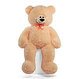 Мишка Боря 120 см цвет персик | Плюшевые медведи | Маленькие и Большие плюшевые мишки, фото 2