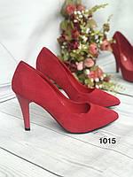 Туфлі жіночі класичні червоні