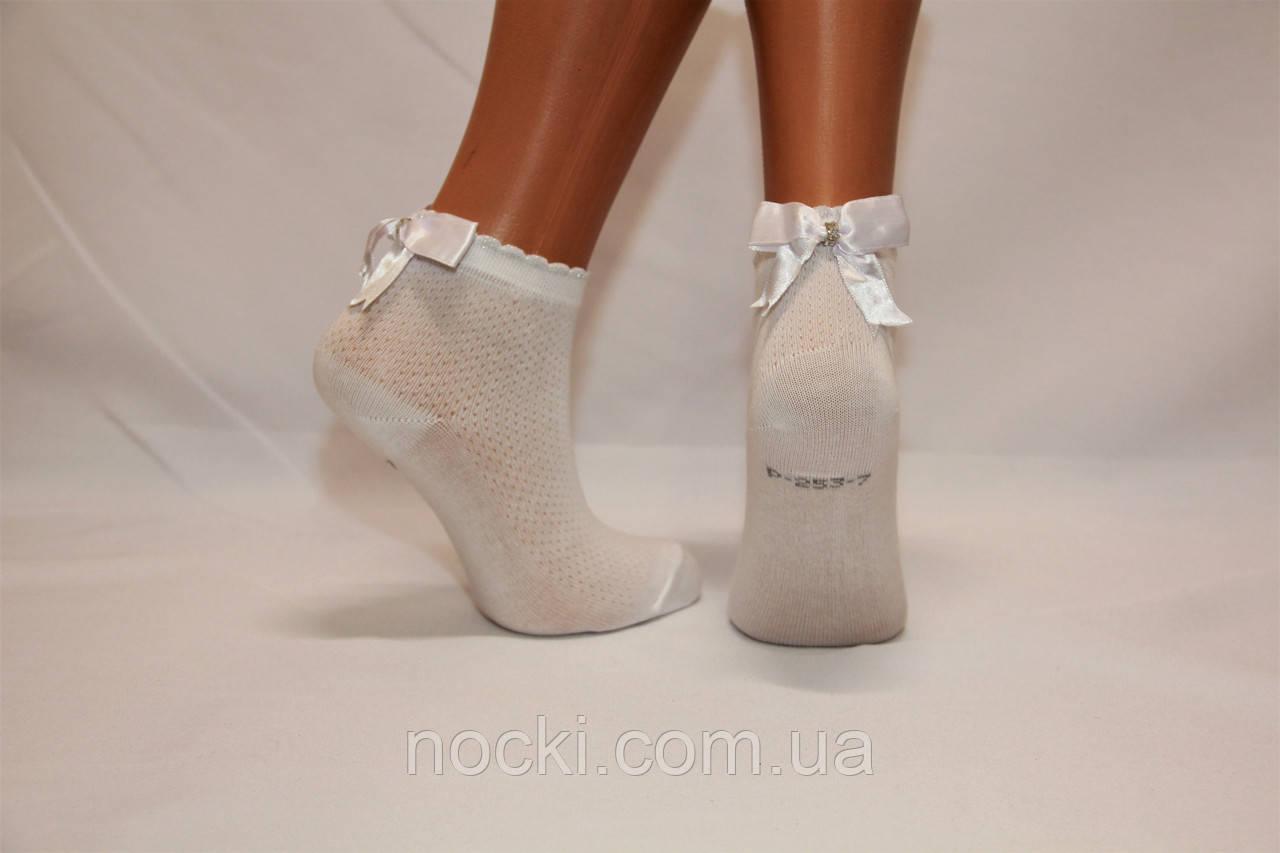 Детские носки белые,ажурные с аксесуарами P-253.274 Pier Lone 7-8 белый p-253