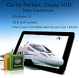 "Планшет Chuwi Vi10 Ultimate Intel Z8300 2/64GB 10.6"" Windows 10 HDMI 8000mA, фото 2"