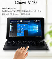 "Планшет Chuwi Vi10 Ultimate Intel Z8300 2/64GB 10.6"" Windows 10 HDMI 8000mA"