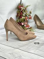 Туфлі жіночі класичні бежеві