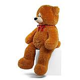 Мишка Боря 120 см цвет карамель | Плюшевые медведи | Маленькие и Большие плюшевые мишки, фото 4