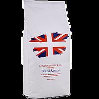 "Кофе ""LONDON"" 100% Арабика. Brazil Santos Coffee 1кг"