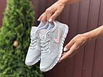 Жіночі кросівки Nike Free Run 3.0 (світло-сірі з рожевим) B10510 модні якісні кроси, фото 2