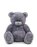 Мишка Тедди 110 см цвет серый | Шикарные плюшевые медведи | Магазин плюшевые медведи, фото 6